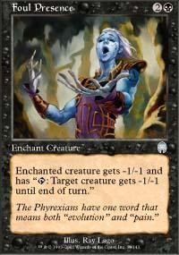 Foul Presence Magic Card