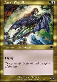 Gaea's Skyfolk Magic Card