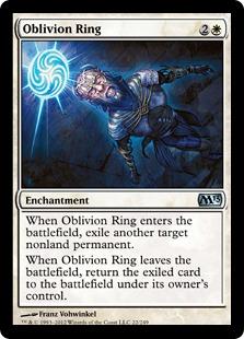 Oblivion Ring Magic Card