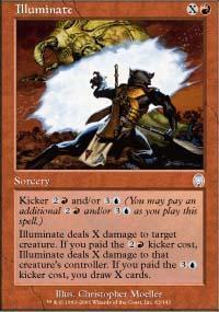Illuminate Magic Card