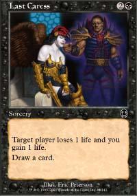 Last Caress Magic Card