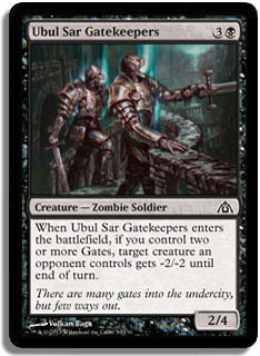 Ubul Sar Gatekeepers Magic Card