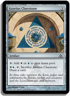 Azorius Cluestone Magic Card