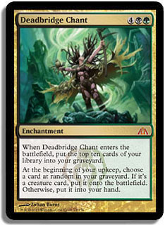 Deadbridge Chant Magic Card