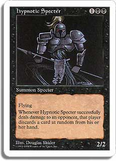 Hypnotic Specter Magic Card