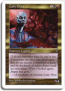 Lady Orca Magic Card