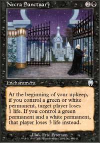 Necra Sanctuary Magic Card