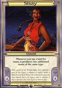 Sisay Magic Card