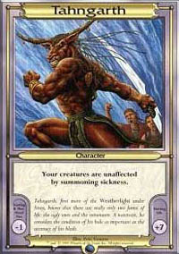 Tahngarth Magic Card
