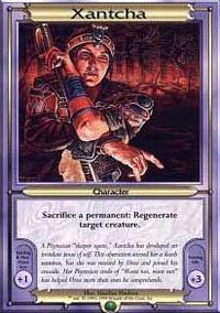 Xantcha Magic Card