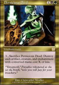 Pernicious Deed Magic Card