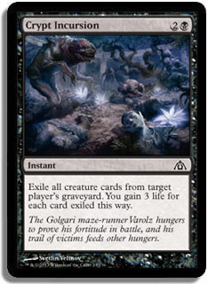 Crypt Incursion Magic Card