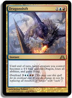 Dragonshift Magic Card