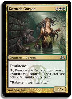 Korozda Gorgon Magic Card