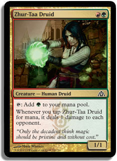 Zhur-Taa Druid Magic Card