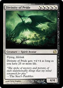 Divinity of Pride Magic Card