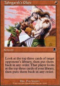 Tahngarth's Glare Magic Card
