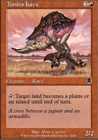 Tundra Kavu Magic Card