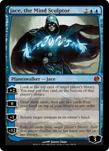 Jace, the Mind Sculptor Magic Card