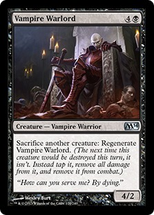 Vampire Warlord Magic Card