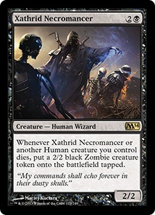 Xathrid Necromancer Magic Card
