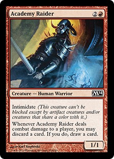 Academy Raider Magic Card