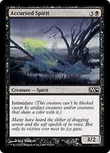 Accursed Spirit Magic Card