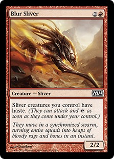 Blur Sliver Magic Card