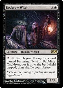 Bogbrew Witch Magic Card