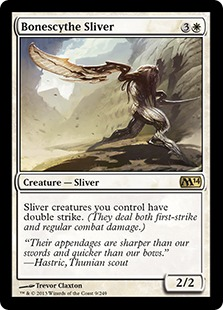 Bonescythe Sliver Magic Card