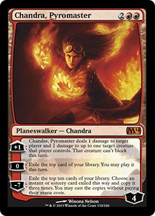 Chandra, Pyromaster Magic Card