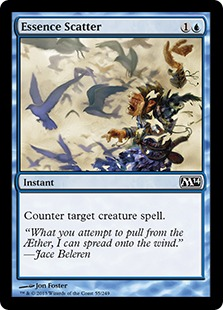 Essence Scatter Magic Card