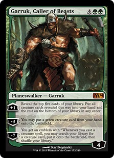 Garruk, Caller of Beasts Magic Card