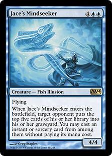 Jace's Mindseeker Magic Card