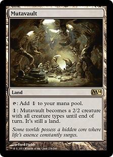 Mutavault Magic Card