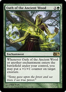 Oath of the Ancient Wood Magic Card