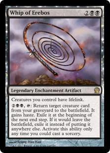 Whip of Erebos Magic Card