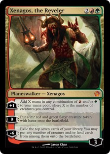 Xenagos, the Reveler Magic Card