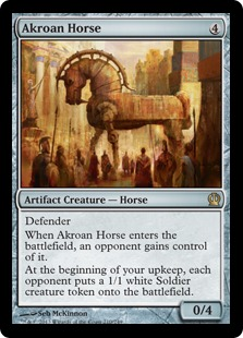 Akroan Horse Magic Card