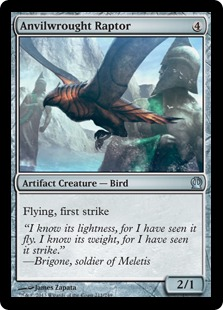Anvilwrought Raptor Magic Card