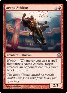 Arena Athlete Magic Card