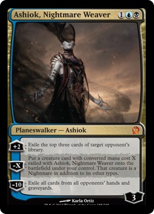 Ashiok, Nightmare Weaver Magic Card