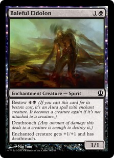 Baleful Eidolon Magic Card