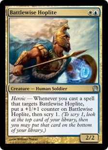 Battlewise Hoplite Magic Card