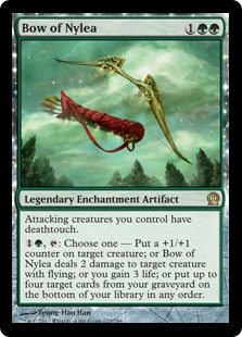 Bow of Nylea Magic Card