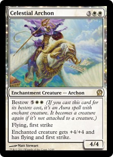 Celestial Archon Magic Card