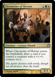 Chronicler of Heroes Magic Card