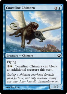 Coastline Chimera Magic Card