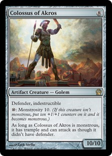 Colossus of Akros Magic Card