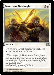 Dauntless Onslaught Magic Card